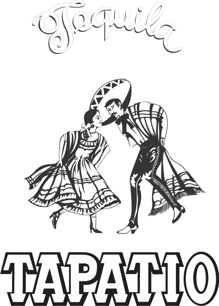 Tapatio Logo Black & White