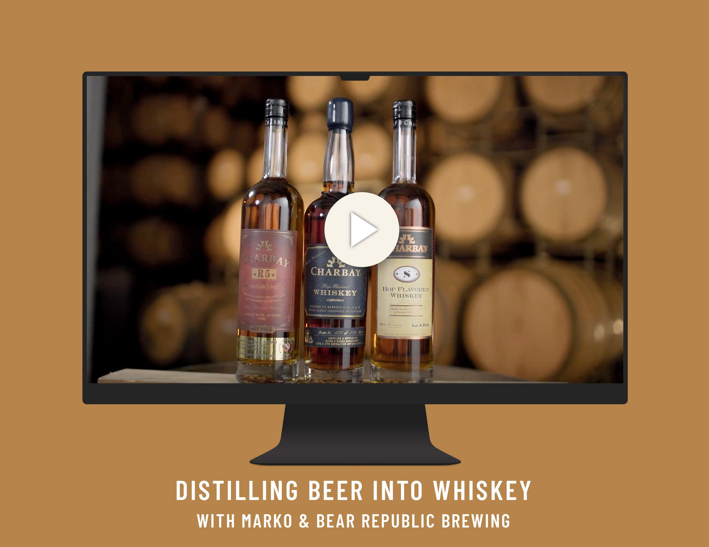 Distilling Beer to Whiskey Video